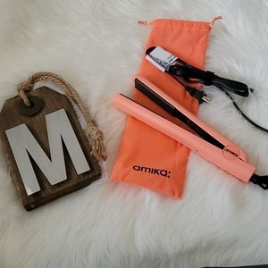 """Amika 1"""" Coral Limited Edition Ceramic Styler NEW"""